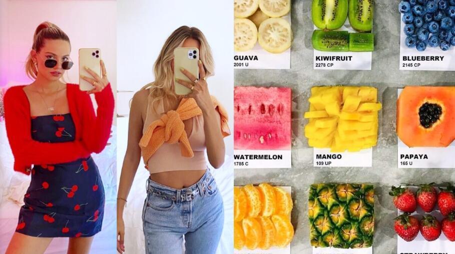 夏季专属水果配色穿搭技巧这样驾驭!各式缤纷色彩迎接炎