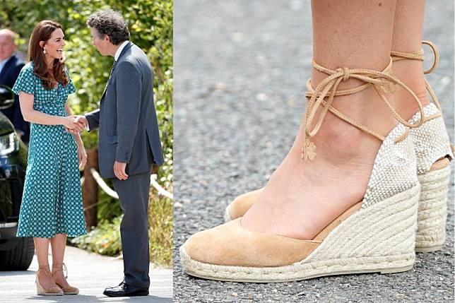 夏天显高穿搭!参考王妃们的espadrilles凉鞋穿搭热潮,还双脚一个清爽夏日