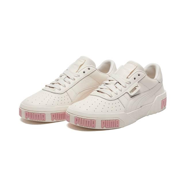 必买!PUMA人气粉色PUMA字款厚底鞋,增高之选
