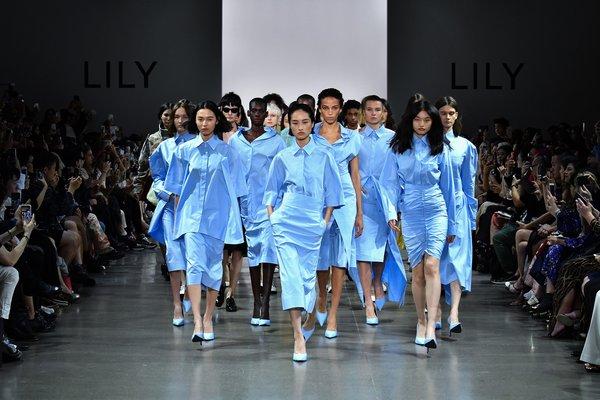 LILY商务时装2020纽约春夏发布秀 多维诠释中国新女性形象