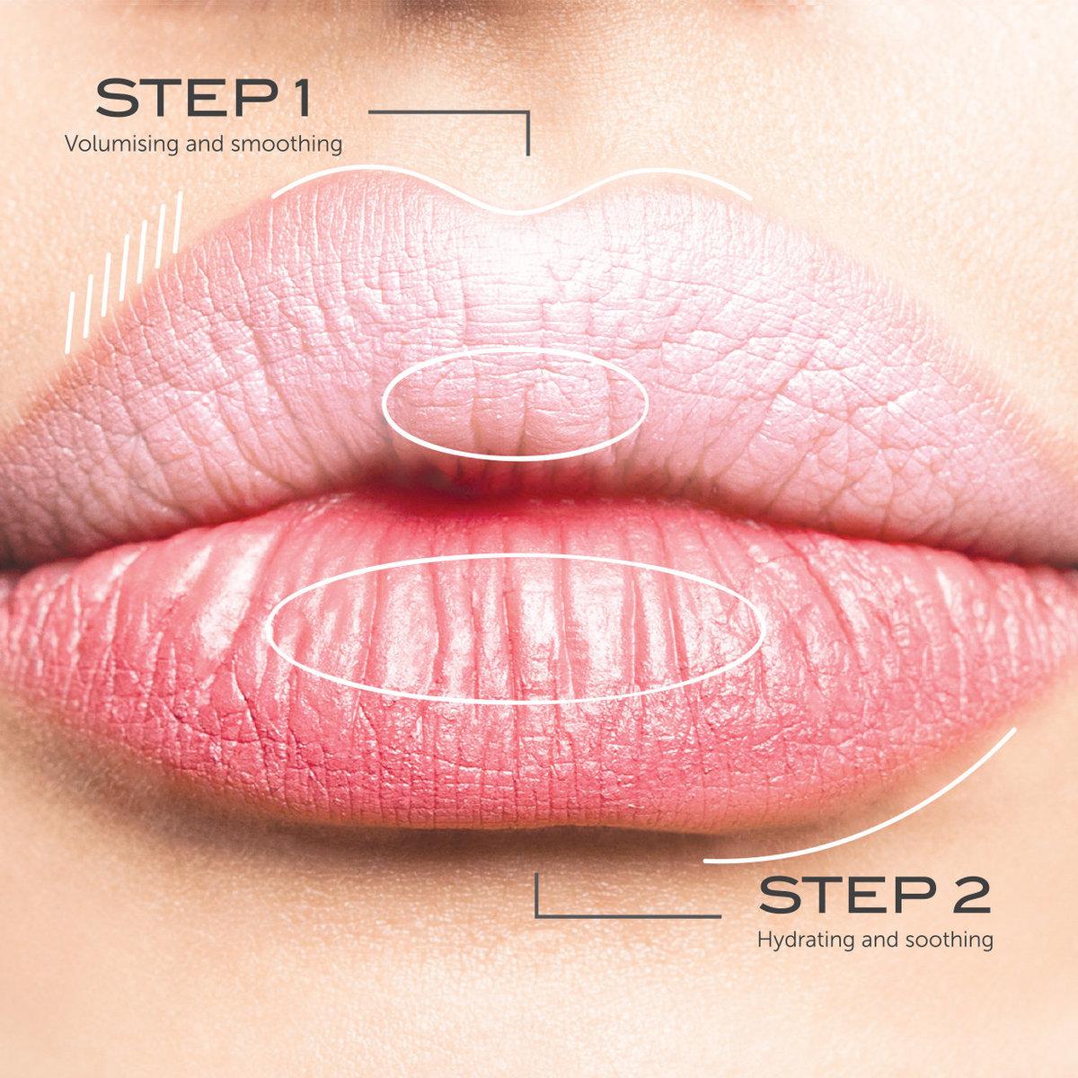 111SKIN星旅双效抚纹唇霜经典变身,两步骤深层修护,一抹立体丰唇崭露自信气场!