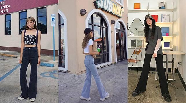 学韩妞怎么穿出逆天长腿!掌握这5种穿裤技巧,显瘦、拉高一次到位