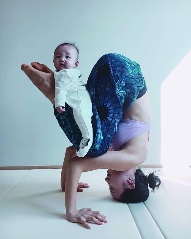 韩国瑜珈老师分享练习倒立的5个好处!