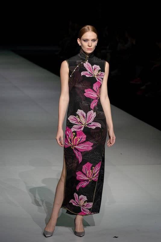 旗袍是美的代名词!将东方魅力注入现代艺术感