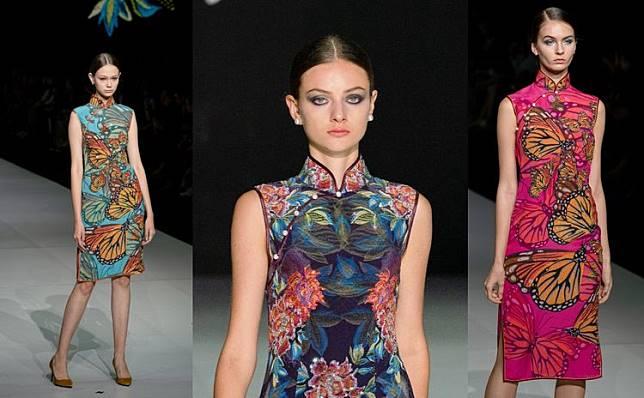 旗袍是美的代名词!将东方魅力注