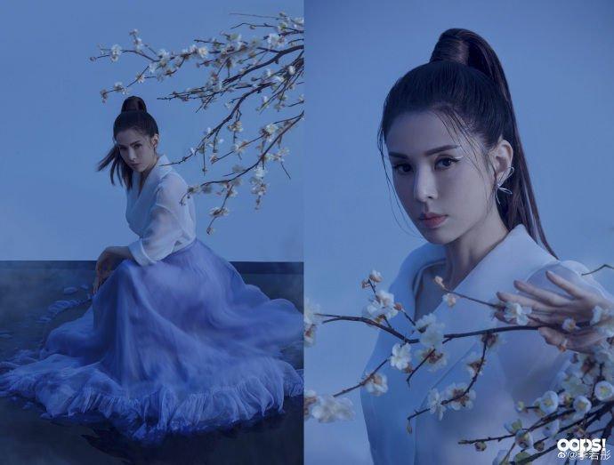李若彤微博突曬婚紗造型照,引網友轟動﹕最美小龍女要嫁了嗎?
