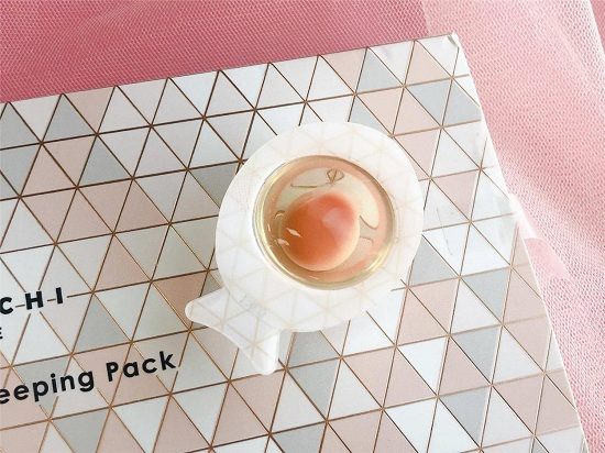 日本cocochi cosme品牌--AG抗糖小肌蛋睡眠面膜使用评测