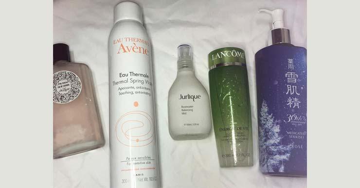 好用的化妆水推荐:资生堂/雅漾活泉水/茱莉蔻玫瑰活肤露/雪肌精化妆水