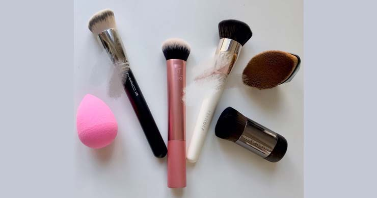 6个好用的底妆工具分享:MAC170、Beautyblender、MakeUpForEver 112等