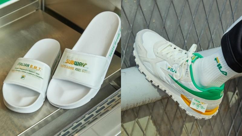 FILA宣布携手Subway推出联名系列,T-Shirt、老爹鞋、棒球帽、托
