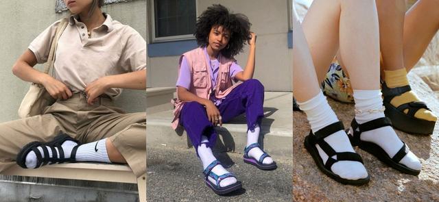白袜与各式鞋款的搭配公式,看完后入手N双白袜也不手软!