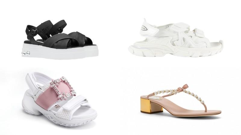 夏天就是要穿美美的凉鞋!精品凉鞋一次看:Gucci、Balenciaga、Miu Miu