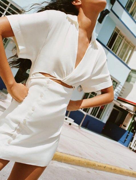 精选超过20款ZARA人气新品推荐!宽松西装套装,打造休闲度假风格!
